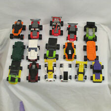 LEGO RACE CARS LOT OF 16 RACE CARS wheels city town racers  TOY