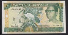 1991-95 banknote The Gambia 10 Dalasis KM 13b uncirculated CU