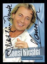 Hansi Kiesler Autogrammkarte Original Signiert ## BC 75807