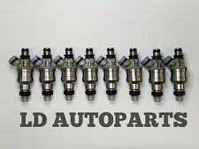 1992-1990 LEXUS LS400 4.0 V8 Denso  SET 8 FUEL INJECTORS Shipped Today Priority