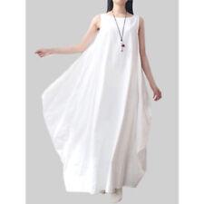 Asymmetric Plus Size Sleeveless Dresses for Women