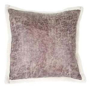 CAMOSCIO Federa per Cuscino Arredo in tessuto scamosciato varie misure e colori.