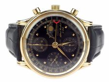 Chronoswiss Alfred Rochat & Fils Lunar Chronograph Herren Armbanduhr Automatic