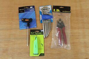 Workshop Tools x 4 - Birzman XLC - Hex Wrench Set Tyre Levers Hex Key