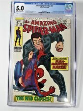 Amazing Spiderman #73 CGC 5.0 First Appearance of Silvermane