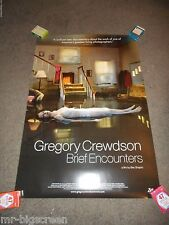 GREGORY CREWDSON: BRIEF ENCOUNTERS - ORIGINAL ROLLED SS POSTER - 2012