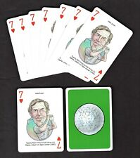 Hale Irwin Pro Golfer Professional Golf Playing Cards - 9 Card Lot Nice!