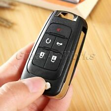 5 Button Flip Remote Key Fob Shell Case Replacement for 2011-2013 Chevrolet Cruz