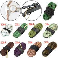 Rope brush Hunting Kit Tube brush Cleaner Bore Snake string Borebrush