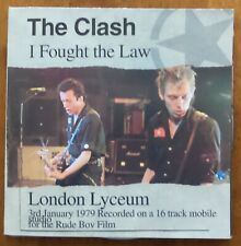 The Clash - I Fought The Law -Live London Lyceum 3rd January 1979 CD