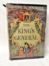 Daphne Du Maurier Book Historical Fiction 1946 King's General Gothic Cupid Cover