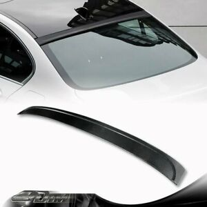 Real Carbon Fiber Rear Roof Spoiler Wing For BMW F10/F18 5-Series 528/535/550/M5