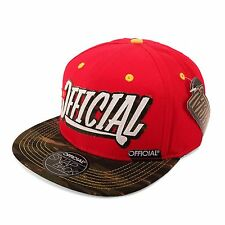 Mitchell & Ness stayofficial Casquette Snapback Bonnet, couleur rouge/Camouflage