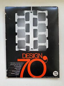 VTG NOS Gunner Jensen Design 70' MID CENTURY MOD LAMP Hanging Denmark Danish 70s