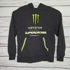 Monster Energy Embroidered AMA SUPERCROSS  FIM World Championship Hoodie S - D1