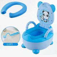 Kids Portable Potty Training Toilet For Baby Toddler Boys Girls Stool Bathroom