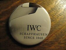 IWC Schaffhausen Pocket Mirror - Repurposed Watch Advertisement Lipstick Mirror