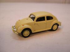 MATTE BEIGE VW BEETLE GREENLIGHT 1:64 SCALE DIECAST METAL MODEL CAR