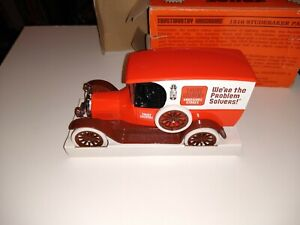 Trust Worthy Die Cast 1916 Studebaker Panel Delivery Truck Coin Bank 9th 22500
