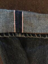 Acne Studios Selvedge Jeans W32 X L34 Made In Italy Redline