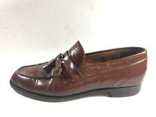 Churchs Made in England Men's UK 8 Brown Leather Tassel Loafer Shoes