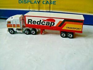 VINTAGE MATCHBOX CONVOY CY8 KENWORTH 'REDCAP TRANSPORT' 1/90th 1981 EXCELLENT