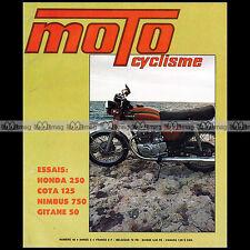 MOTOCYCLISME N°44 HONDA CB 250 T TESTI 50 NIMBUS MONTESA COTA 123 ELEPHANTS 1973
