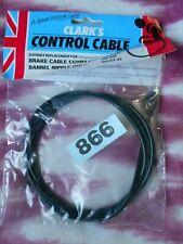 VINTAGE 1 X  CLARKS  BLACK BRAKE CABLE BARREL NIPPLE GENTS REAR 5037-G