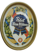 Vintage Pabst Blue Ribbon Oval Beer Tray P-2093 Pbr I3