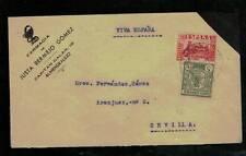 1937. ALMENDRALEJO A SEVILLA  EDIFIL 808