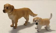 Schleich Dog Golden Retriever Male Dog And Puppy
