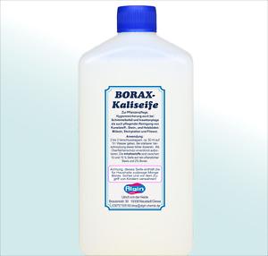Borax-KaliSeife Pflanzenpflege Schimmel Läuse Schaben 1 Liter Schmierseife