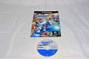 Mega Man X Collection (Nintendo GameCube, 2006) GAME AND FRENCH MANUAL ONLY