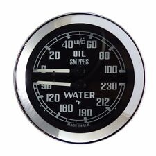 Smiths Dual Oil & Water Temperature Gauge For MGB, Midget & Sprite BHA4737