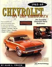 1965 1967 1968 1969 Chevrolet by the Numbers Parts Reference Interchange Guide