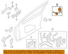 SUBARU OEM 14-16 Forester Front Door-Lock Cylinder Right 57492FJ030