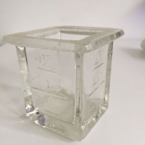 Pan Receptacle Glass For Mill Coffee Wall Peugeot Anv Height 6,6 CM