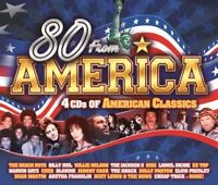 Various - 80 From America - 4CD Set American Classics USED (Broken Cover)