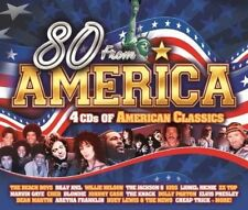 Various - 80 From America 4CD Set American Classics NEW & SEALED