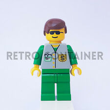 LEGO Minifigures - 1x bnk001 - Banker - Banchiere Town Omino Minifig 4560 4561