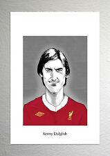 Kenny Dalglish - Liverpool Legend - Caricature Art Poster