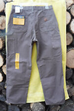 BRAND NEW W/TAGS! CARHARTT WASHED DUCK WORK DUNGAREE 34x34 TAN PANTS!