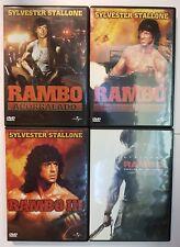 PELICULA DVD PACK RAMBO 1+2+3+4