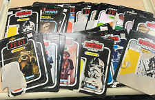 Vintage Star Wars ESB, ROTJ and Power of the Force 29 cardback lot  MUST SEE!
