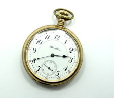 Antique 51mm HAMILTON 14k Gold Filled 20Yrs 17 Jewel Winding Pocket Watch 19272