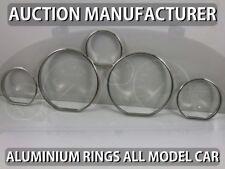 Peugeot 406 1995-1999  / 5-teilig Aluminium  Tachoringe / Tacho Ringe
