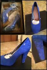 Scarpe col tacco Tommy Hilfiger blu elettrico numero 38