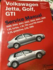 1999-2005 Volkswagen Jetta Golf GTI Service Repair Shop Manual 2 Vol Set VG05