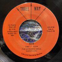 "detroit gospel funk breaks 7"" DYNAMIC SOUL SUPERIORS Rain ♫ Mp3 Three Way 1976"