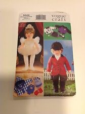 """Vogue Craft Sewing Pattern 9528 Clothes for 18"""" Dolls 1996 Ballet Soccer Riding"""